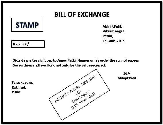 42 format of bill of exchange accounting gyaan proforma 2 thecheapjerseys Image collections