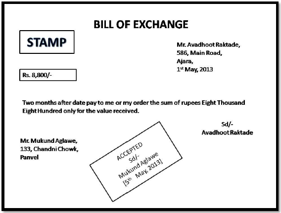 46 format of bill of exchange accounting gyaan proforma 6 thecheapjerseys Image collections